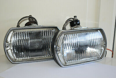 Ford Escort Competition Works Rally Lucas Square Lr8 Lamps And Covers