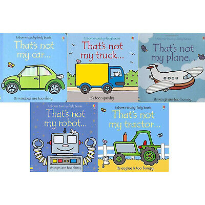 Thats Not My Transport Collection Usborne Touchy-Feely 5 Books Set