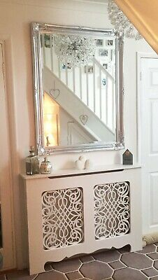 French/Shabby Chic Baroque Radiator Cover - Unpainted Cabinet - FAST!