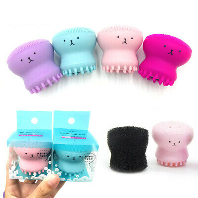 Silicone Beauty Wash Pad Face Exfoliating Blackhead Facial Cleansing Brush Tools