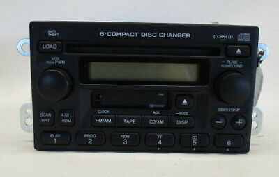 2005 2006 Honda CRV CR-V AM FM 6 Disc CD Cassette Radio Receiver 1TN2 OEM LKQ