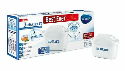 BRITA Maxtra+ Plus Water Filter Cartridges, Pack of 3 (UK Version)