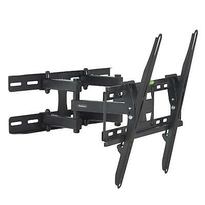 "Vonhaus 23-56"" Double Arm Tilt & Swivel TV Wall Mount Bracket Universal For Tv"