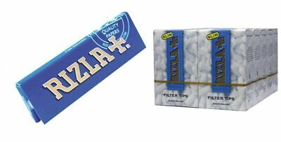 KIT 2500 CARTINE RIZLA BLU CORTE + 3000 FILTRI RIZLA SLIM 6 mm
