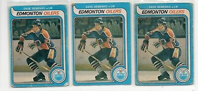 1X DAVE SEMENKO 1979 80 O Pee Chee #371 RC Rookie GVG-VG opc Lots Availab OILERS