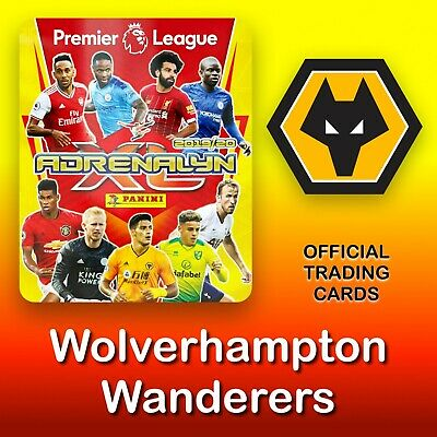Panini Adrenalyn XL 2019-2020: Wolverhampton / Wolves cards. Premier League. NEW