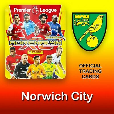 Panini Adrenalyn XL 2019-2020: Norwich City cards. Premier League. NEW
