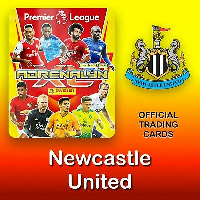 Panini Adrenalyn XL 2019-2020: Newcastle United cards. Premier League. NEW