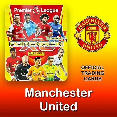 Panini Adrenalyn XL 2019-2020: Manchester United cards. Premier League. NEW