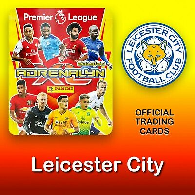 Panini Adrenalyn XL 2019-2020: Leicester City cards. Premier League. NEW