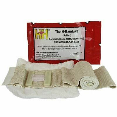 The H-Bandage Comprehensive Combat Dressing Nsn 6510-01-540-6484