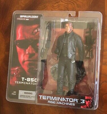 Super 7 Reaction The Terminator T800 Terminator Chrome /& Squelette SET//LOT X2