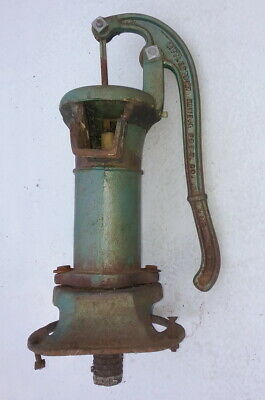Antique Cast Iron Littlestown HDWE & FDRY Co. Water Well Pump, Hand Pump Type