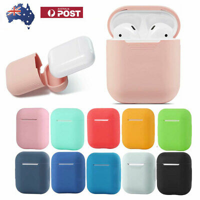 Anti-Falling Apple AirPods Case Cover Silicone Skin Slim Holder AirPod Case