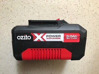 Ozito Power X Change 18V 3.0Ah Li-Ion Battery Spare Replacement 3 Year Warranty