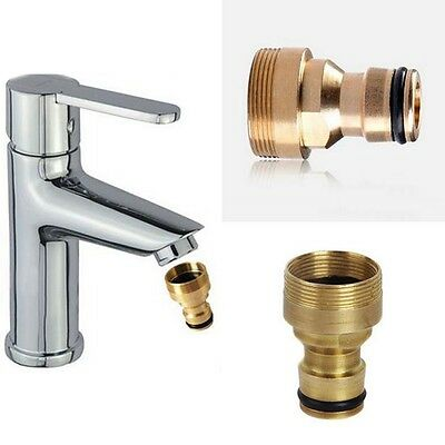 Universal Kitchen Tap Connector Garden Hose Adaptor Pipe Fitting Accesoty