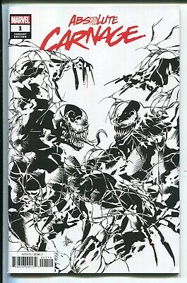 Absolute Carnage #1 Mike Deodato B & W Party Sketch Variant Cover - 1 Per Store