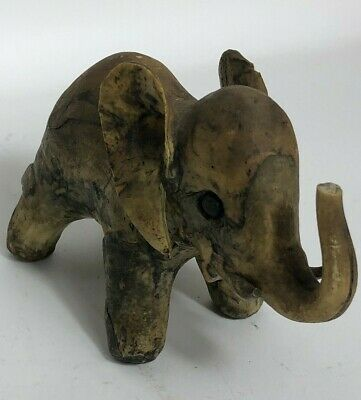 Cute Baby Elephant Figurine Trunk Up Great Detail Great Gift