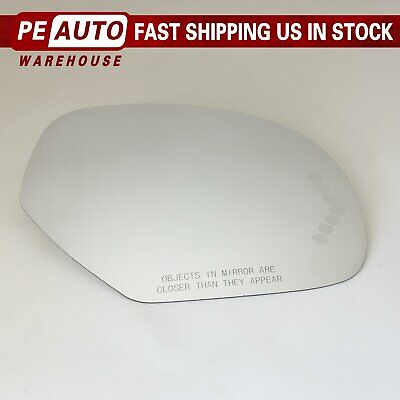 Mirror Glass Right Side Full Adhesive for Cadillac Escalade Chevy Avalanche GMC