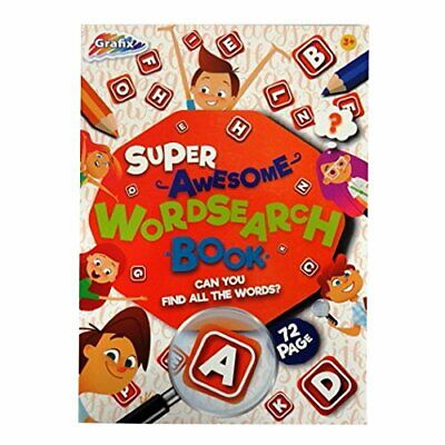 Kids Word Search 56 A4 Size Puzzles To Do Book Learning Travel Fun Activity