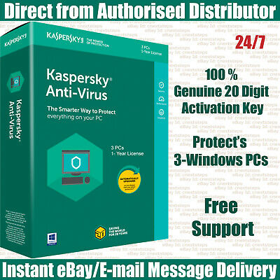 Kaspersky Internet Security 2019 : 2 Devices - 1 Year KEY Instant eBay Message
