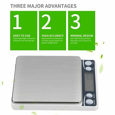 Multifunctional LCD Electronic Digital Scale 0.1G/0.01G Kitchen Weight Scales 6Z