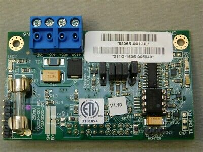 PACOM 8205R-001-UL RS232/RS485 Expansion Module