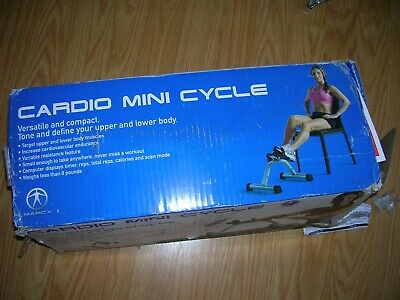 NEW Marcy NS-912 Cardio Mini Pedal Exercise Cycle Portable
