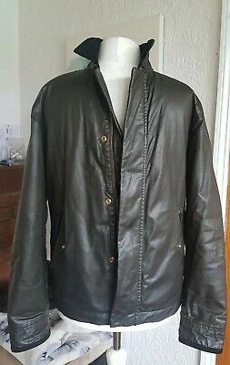 "House of Fraser, Howick Jacket Size S 36"" Chest, Cord & Cotton, Dark Olive Green"