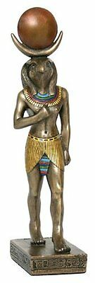 "8.75"" Egyptian Horus Sculpture Ancient Egypt God Statue Pagan Falcon  Figure"