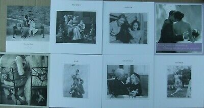 14 Greeting Cards With Envelope Quality Black & White Joblot Wholesale