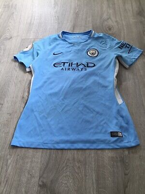 Nike Manchester City Women's Home Shirt Large 'Champions 18'