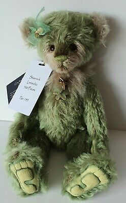 Charlie Bears Shamrock -Isabelle Lee Collection - Ltd Edt 155/300 -Mohair -2019