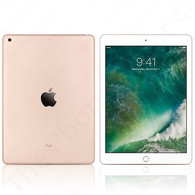 "Apple iPad 9.7"" 6th Gen 32GB Gold Wi-Fi 2018 Model MRJN2LL/A"