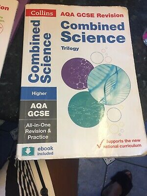 Grade 9-1 GCSE Combined Science Trilogy Higher AQA All-in-One... by Collins GCSE