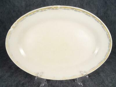 "Vintage Stinthal China Crooksville 14"" Oval Serving Platter"