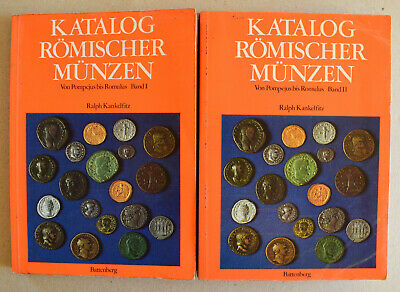Kankelfitz Ralph, Catalogue Of Roman Coins, 1&2 Vol.