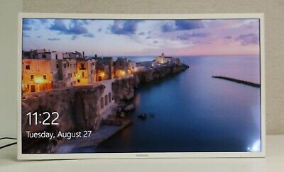 """Samsung 32"""" Curved Monitor Ultra-Slim Wide Angle LCD Full HD LC32F395FWNXZA"""
