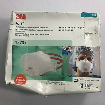 49 3m 11 - 1870 Respirator Mask 15pcs pack Surgical And N95-