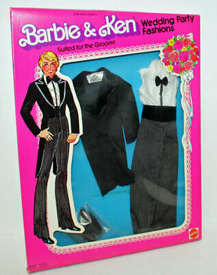 Suited For The Groom Barbie & Ken Designer Originals #1418 Superstar 1979
