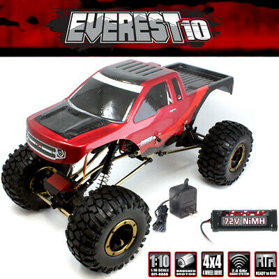 Redcat Everest-10 1/10 Rock Crawler Electric 4WD RTR Red w/ Battery / Charger