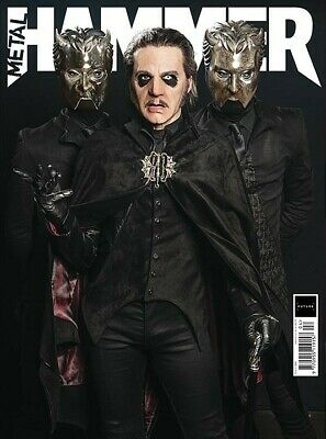 METAL HAMMER magazine April 2019 Issue #320 Ghost incl art print & stickers
