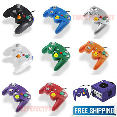 NEW Shock Game Controller Pad for Nintendo Gamecube NGC Wii Multiple Colors USA