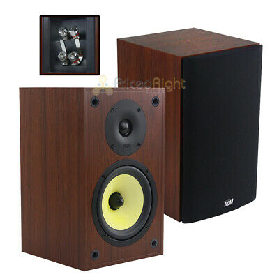 """2 Pack 6.5"""" Bookshelf Home Theater Speakers 100W RMS TP160S-CH DCM by MTX Audio"""