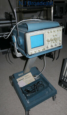 Tektronix 2445a oscilloscope 150mhz with stand and more