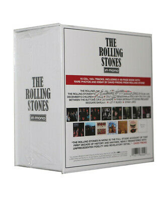 """Nostalgia The Rolling Stones """"In Mono"""" (Remastered) 15 CD Box Set Collection"""