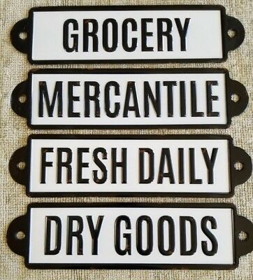Old Town Mercantile Sign Personalized Dry /& Fancy Goods Sign ENSA1001963