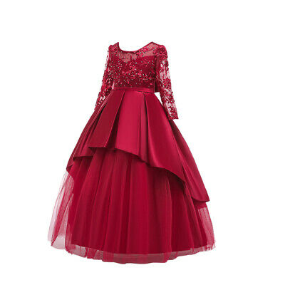 1pc Princess Dress Fashion Beautiful Delicate Children Dress for Christmas Party