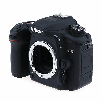 NIKON D7500 DSLR Body, Black - Refurbished by Nikon U S A
