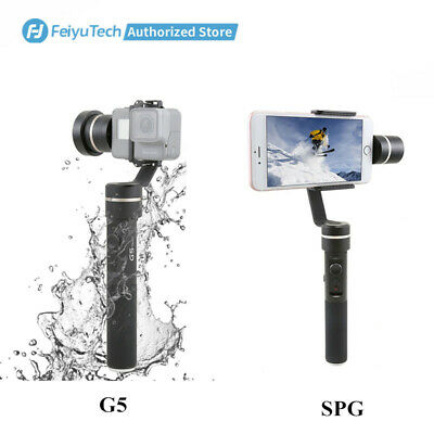Feiyu G5,SPG 3-Axis Handheld Gimbal Stabilizer for Action Cameras,Cellphones